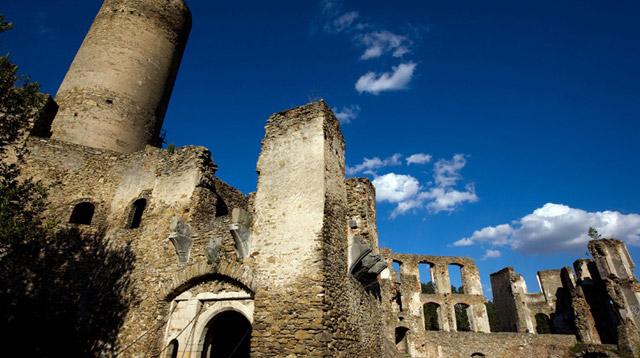 Ruine der Burg Kollmitz