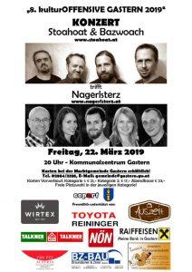 thumbnail of Plakat 2019 – Konzert Stoahoat Bazwoach 22.03.2019