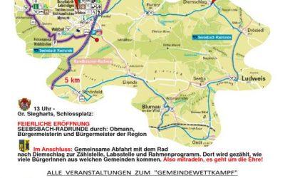 Eröffnung der Seebsbach Radrunde